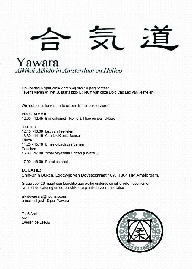 6 April uitnodiging to Joshi San